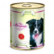 ARAS HYPO-ALLERGENIC консервы для собак «Ягненок с яблоком» 820 г